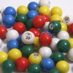 "Bingo Balls–Color–Small-3/4""D"